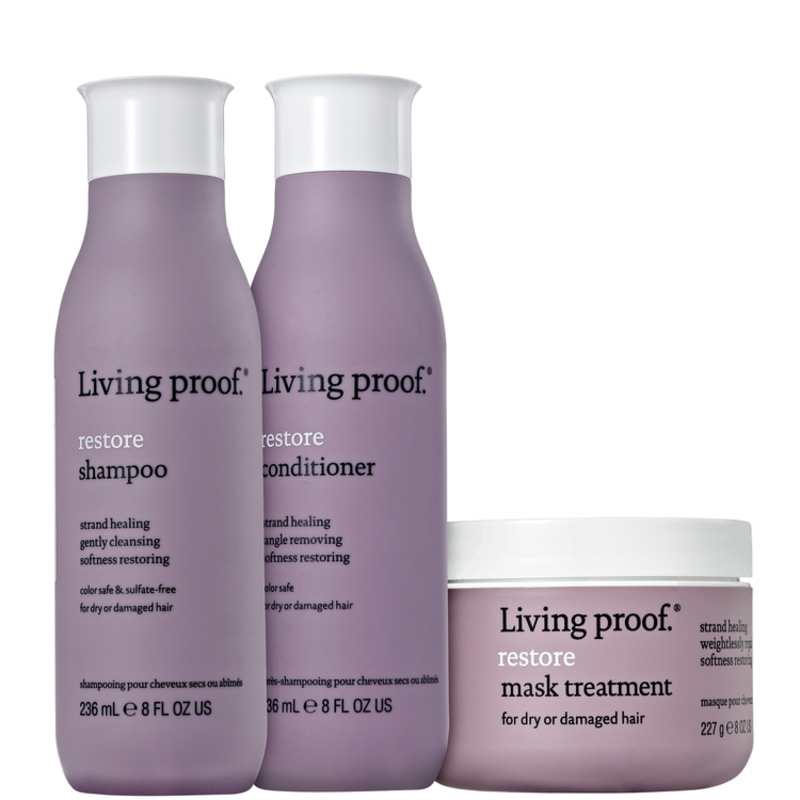 Living Proof Restore Mask Kit (3 Produtos)