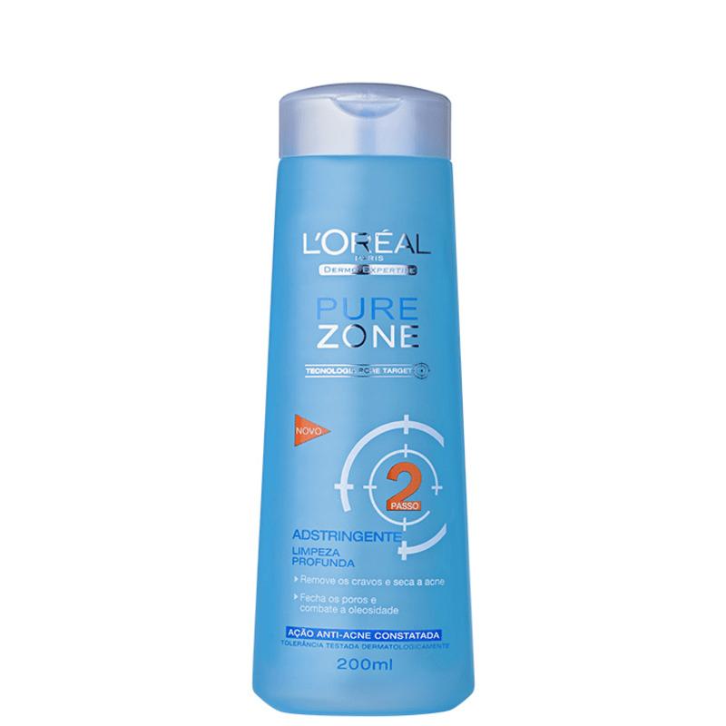 L'Oréal Paris Dermo-Expertise Pure Zone Adstringente – Tônico 200ml