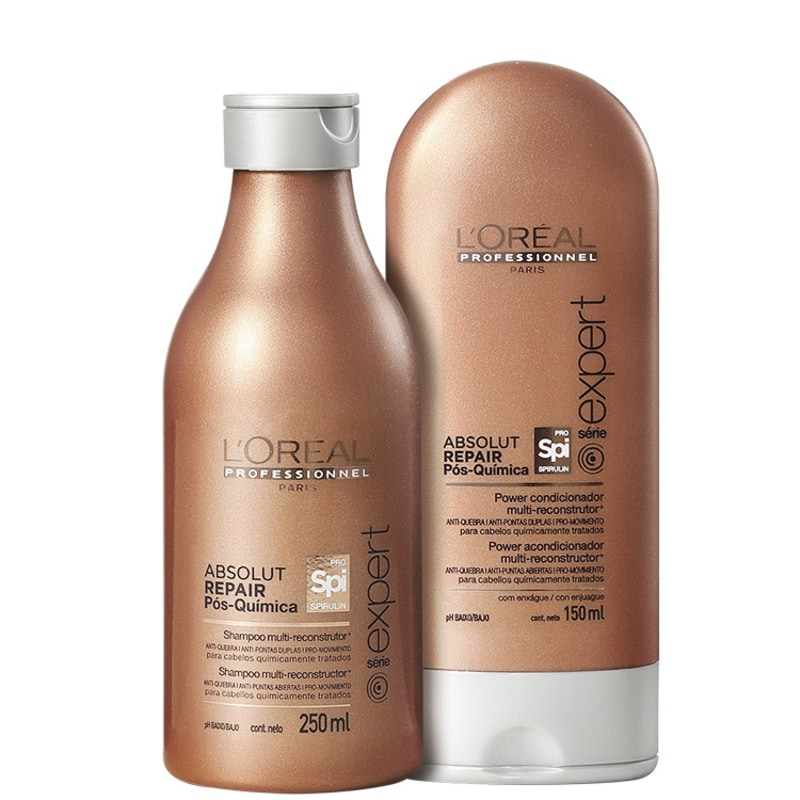 L'Oréal Professionnel Absolut Repair Pós-Química Multi-reconstrutor Duo Kit (2 Produtos)