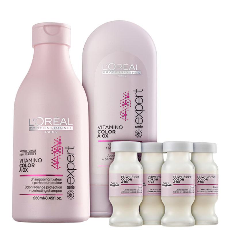 L'Oréal Professionnel Vitamino Color  A.OX Protect Kit (3 Produtos)