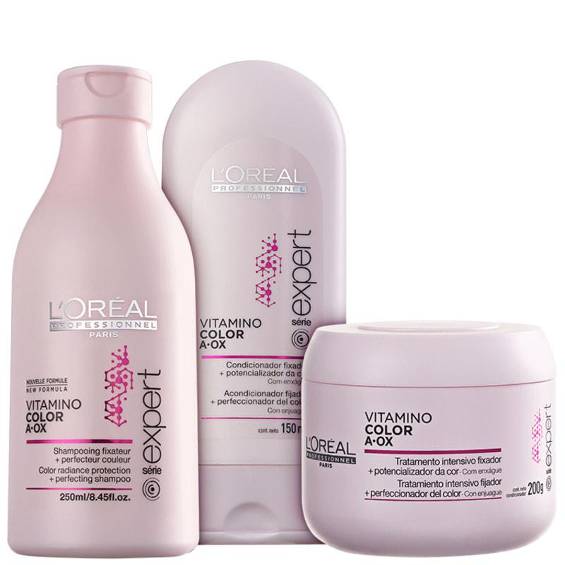 L'Oréal Professionnel Vitamino Color  A.OX Trio Kit (3 Produtos)