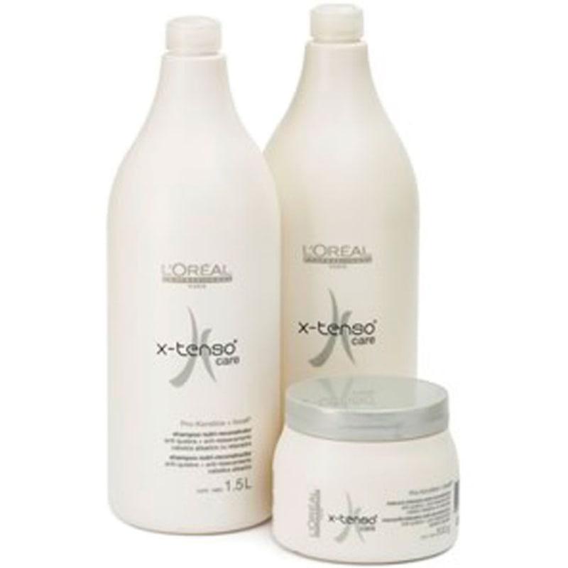 L'Oréal Professionnel X-Tenso Care Salon Kit (3 Produtos)