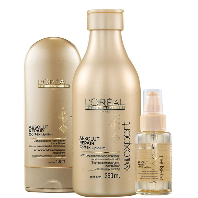L'Oréal Professionnel Absolut Repair Cortex Lipidium Trio Kit (3 Produtos)