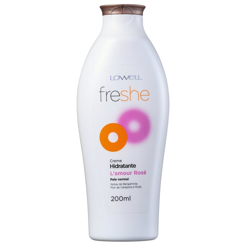 Lowell Freshe L'amour Rosé - Creme Hidratante 200ml