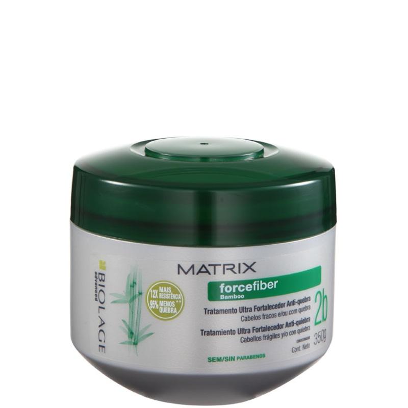 Matrix Biolage Forcefiber Tratamento Ultra Fortalecedor Anti-Quebra - Máscara 350g