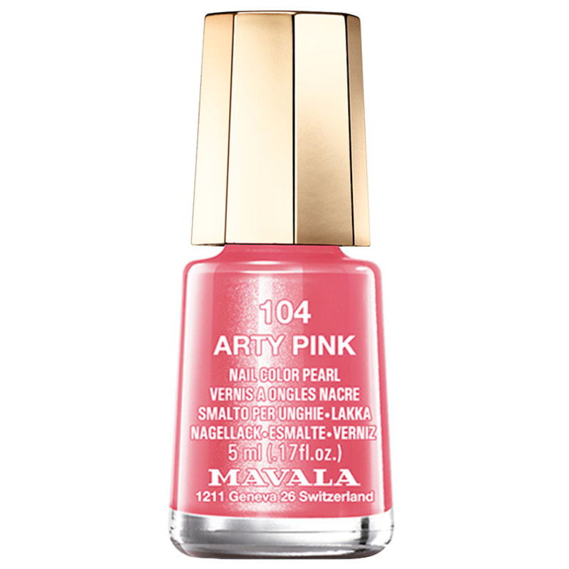 Mavala Techni Colors Arty Pink - Esmalte Cremoso 5ml