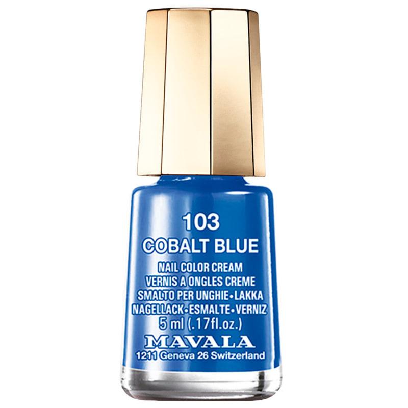 Mavala Techni Colors Cobalt Blue - Esmalte Cremoso 5ml