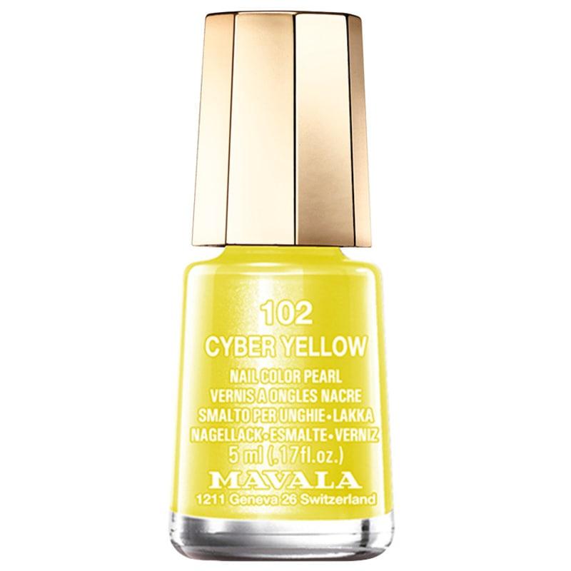 Mavala Techni Colors Cyber Yellow - Esmalte Cremoso 5ml