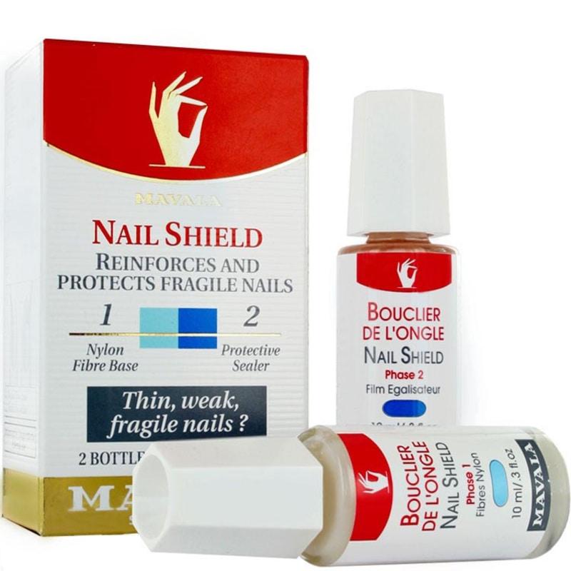 Mavala Nail Shield - Fortificante para Unhas 2x10ml