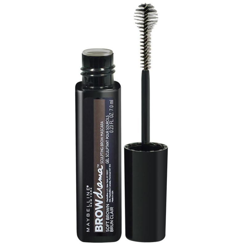 Maybelline Brow Drama Soft Brown - Máscara para Sobrancelha 7ml