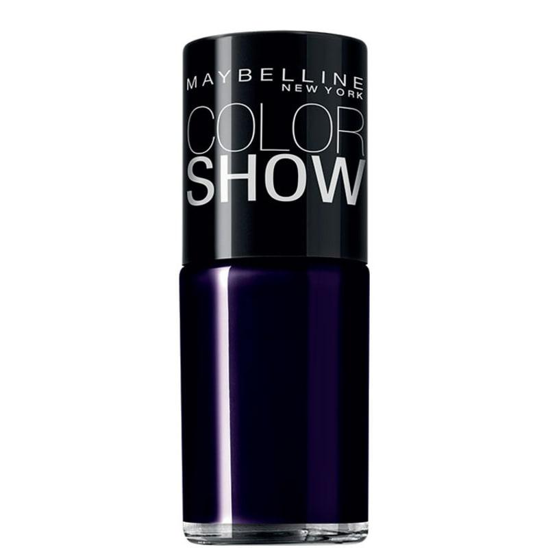 Maybelline Color Show 380 Night Blue - Esmalte Cremoso 10ml