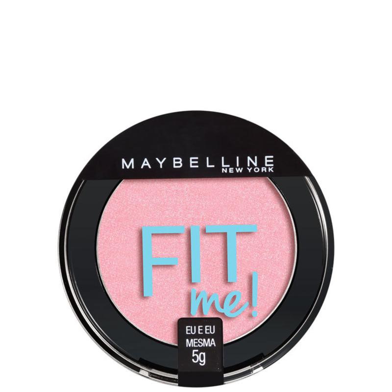 Maybelline Fit Me! 04 Eu e Eu Mesma - Blush Cintilante 5g