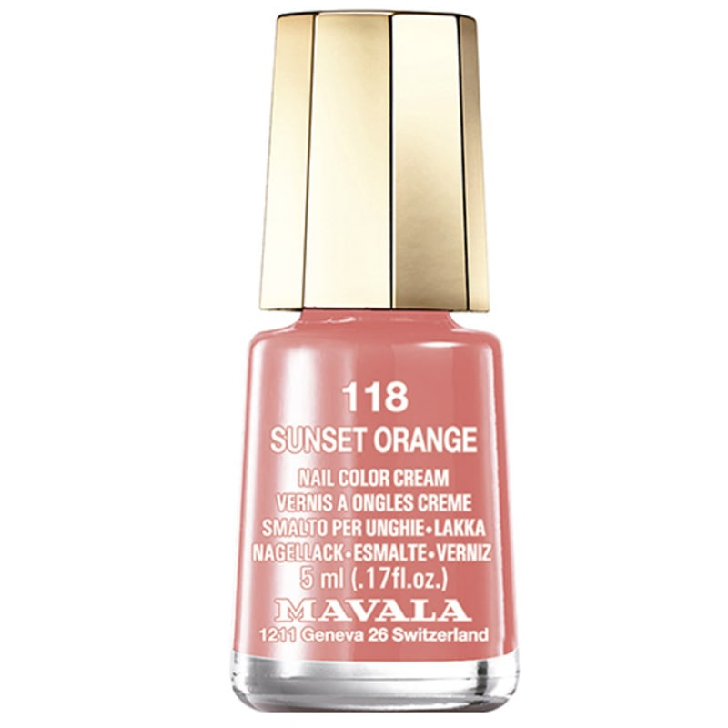 Mavala Mini Colours Oasis Sunset Orange - Esmalte Cremoso 5ml