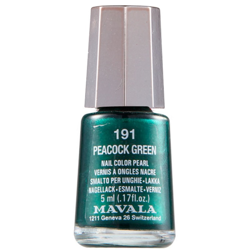 Mavala Mini Colours Peacock Green - Esmalte Metálico 5ml