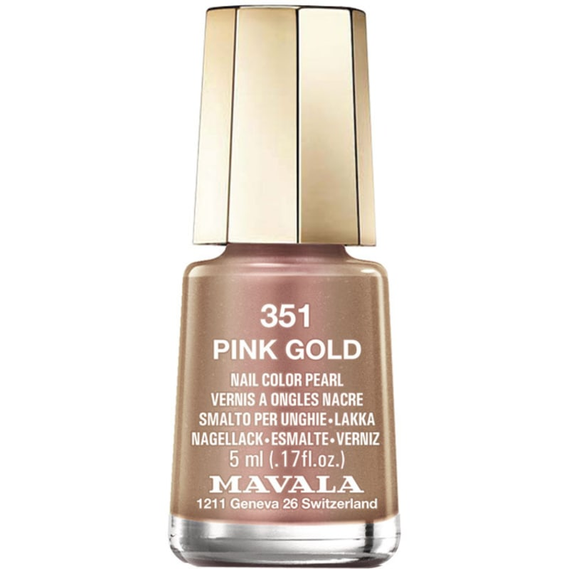 Mavala Mini Colours Pink Gold - Esmalte Metálico 5ml