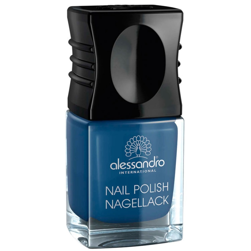 Alessandro International Nail Polish Blue Lagoon - Esmalte Cremoso 10ml