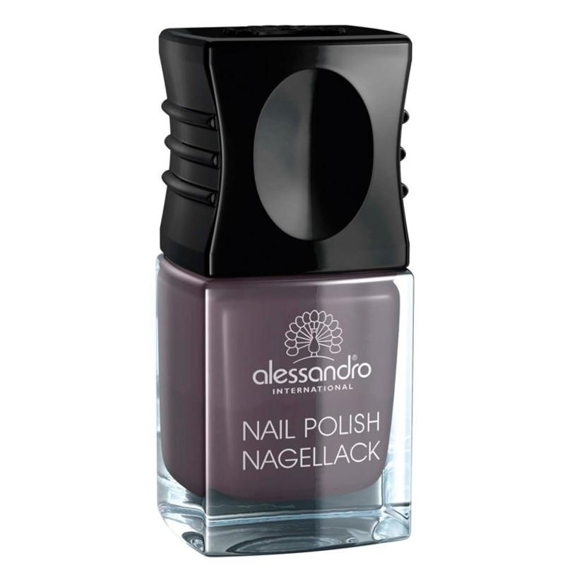 Alessandro International Nail Polish Dusty Purple - Esmalte Cremoso 10ml