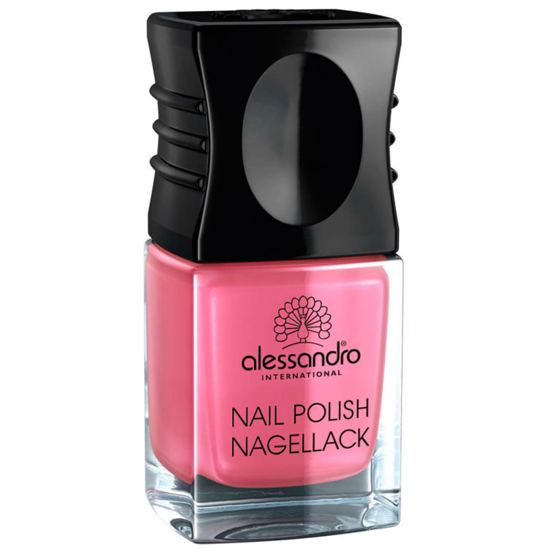 Alessandro International Nail Polish Shiny Strawberry - Esmalte Cremoso 10ml