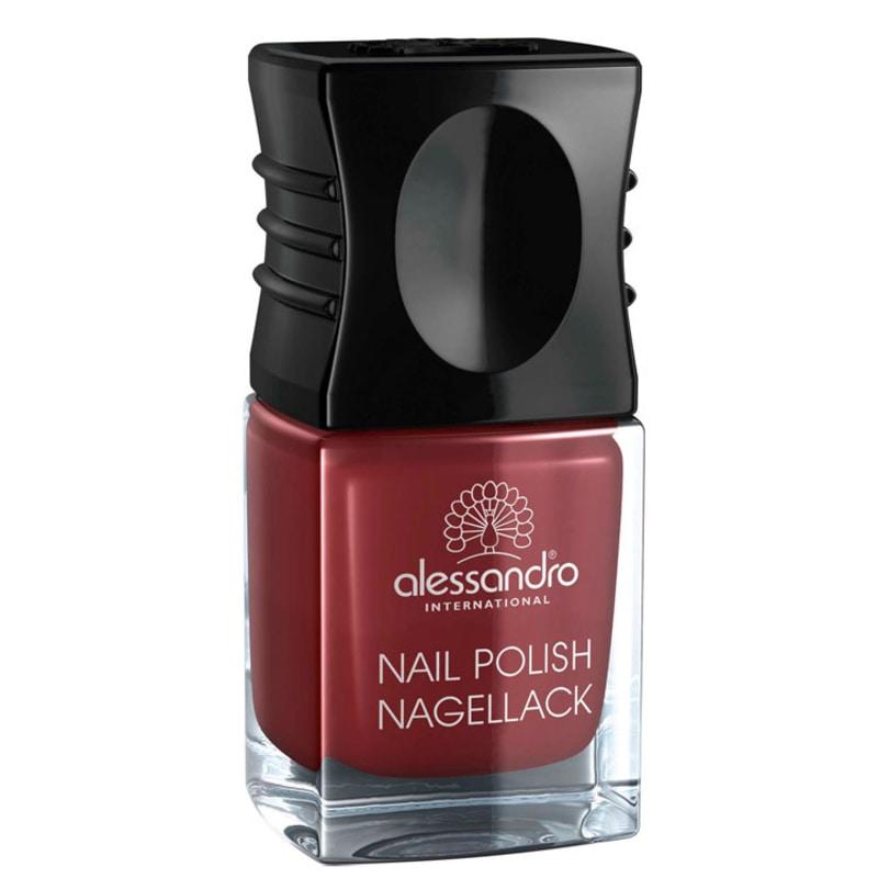 Alessandro International Nail Polish Sophisticated Red - Esmalte Cremoso 10ml