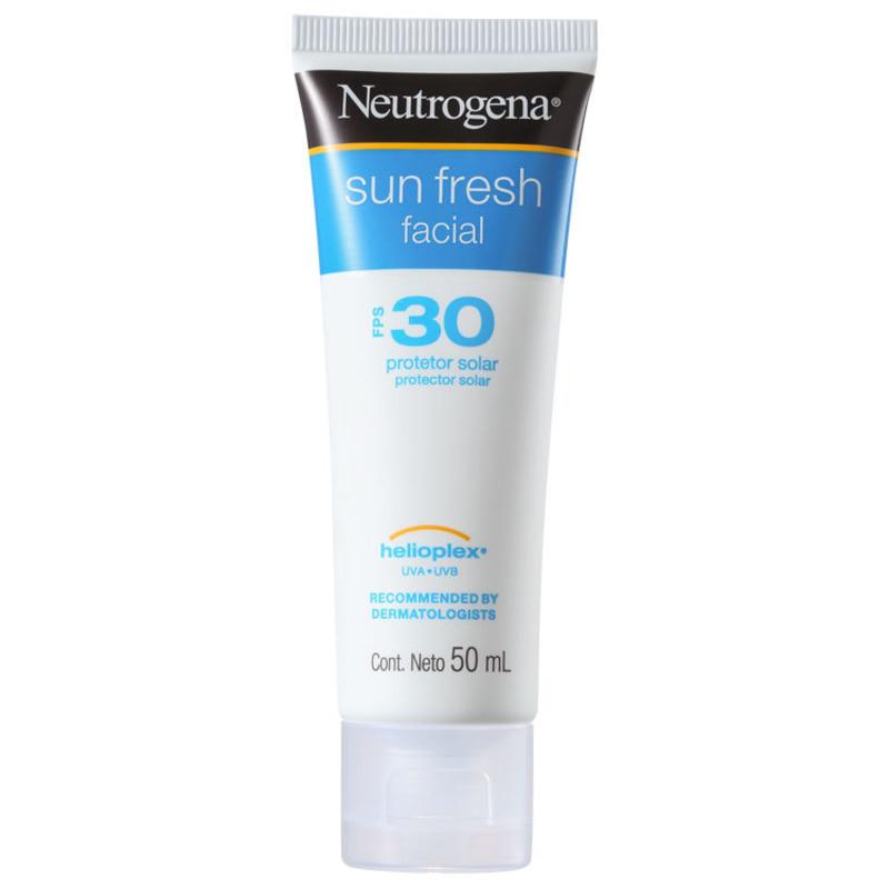 Neutrogena Sun Fresh FPS 30 - Protetor Solar Facial 50ml