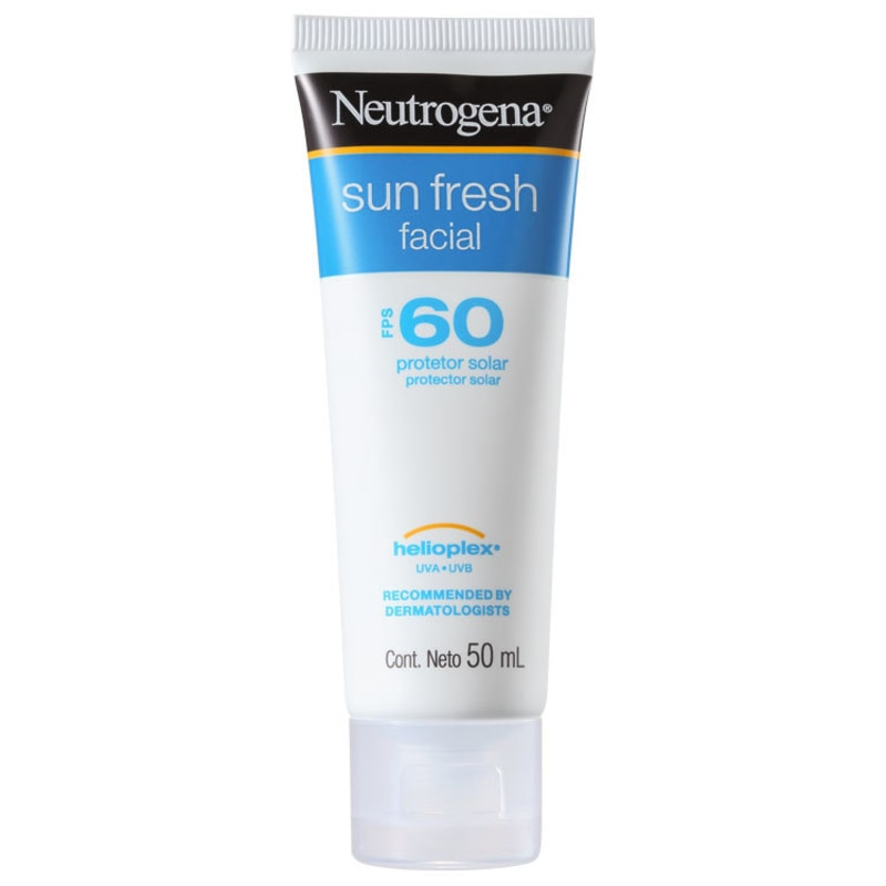 Neutrogena Sun Fresh FPS 60 - Protetor Solar Facial 50ml