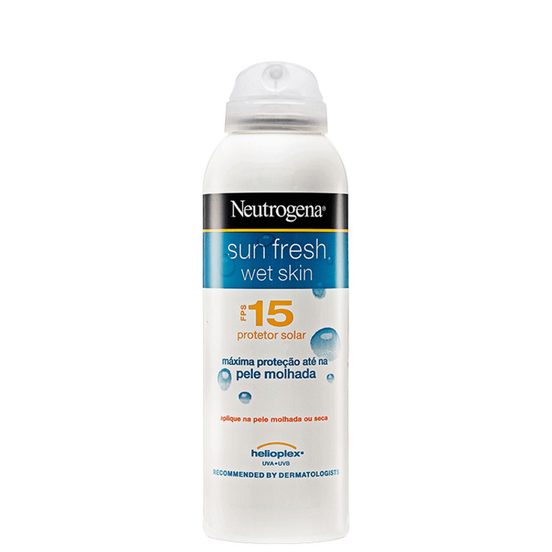 Neutrogena Sun Fresh Wet Skin FPS 15 - Protetor Solar 180ml
