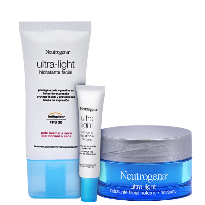 Neutrogena Ultra-Light - Trio Kit (3 Produtos)