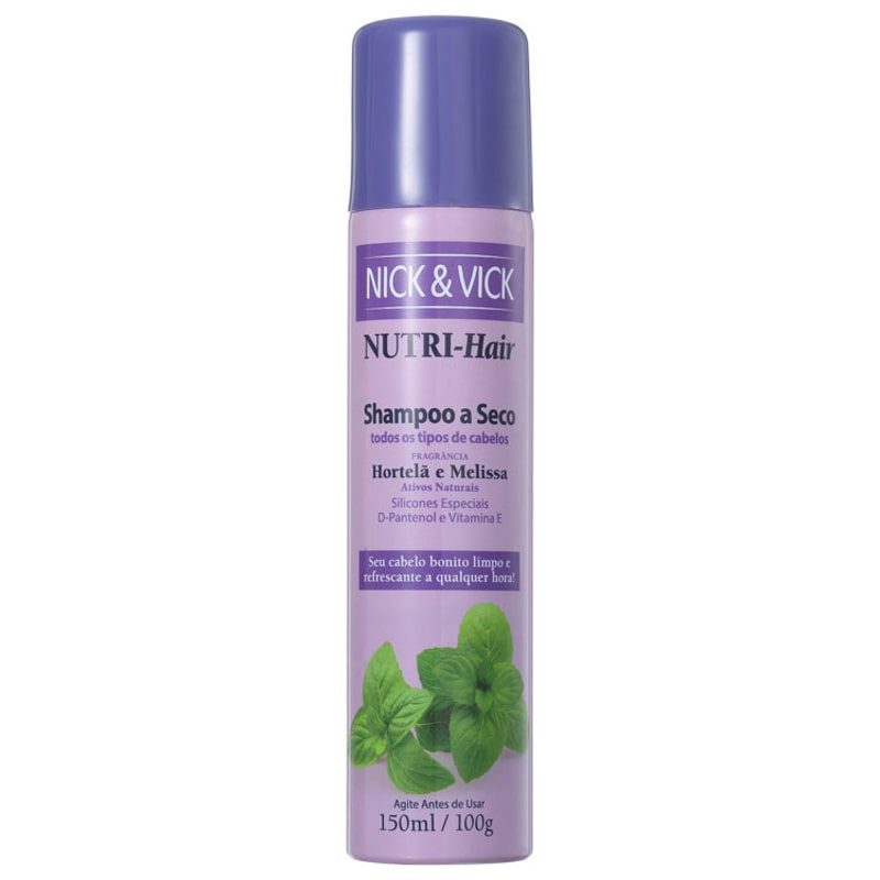 Nick & Vick NUTRI-Hair - Shampoo a Seco 150ml