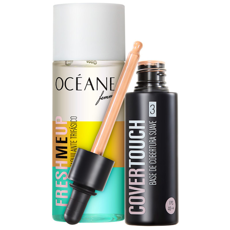 Kit Océane Femme Cover Touch 3 Fresh Me Up (2 produtos)