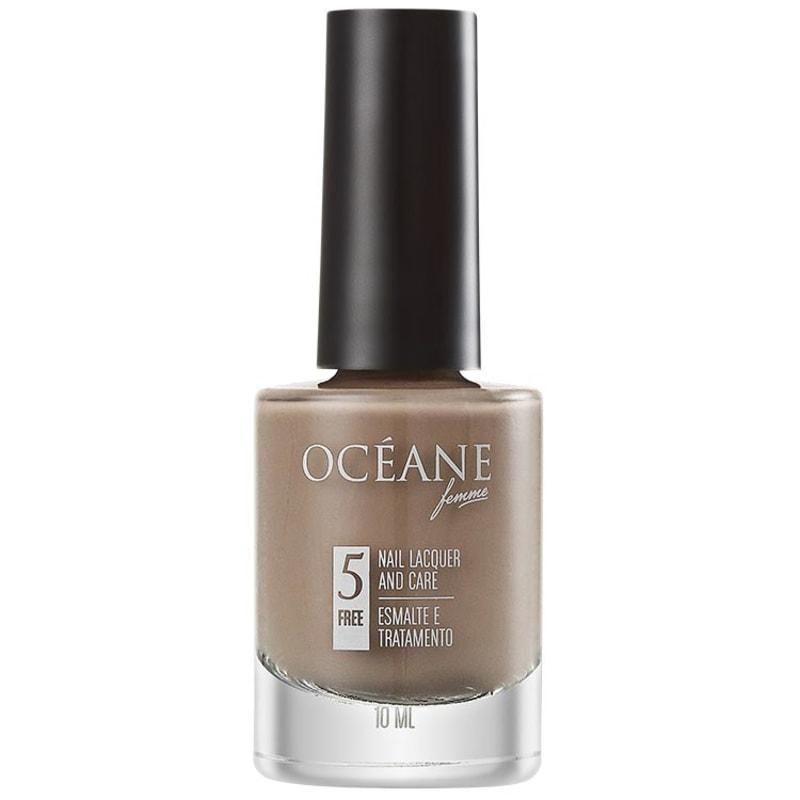Océane Femme Nail Lacquer And Care Cashmere - Esmalte Cremoso 10ml