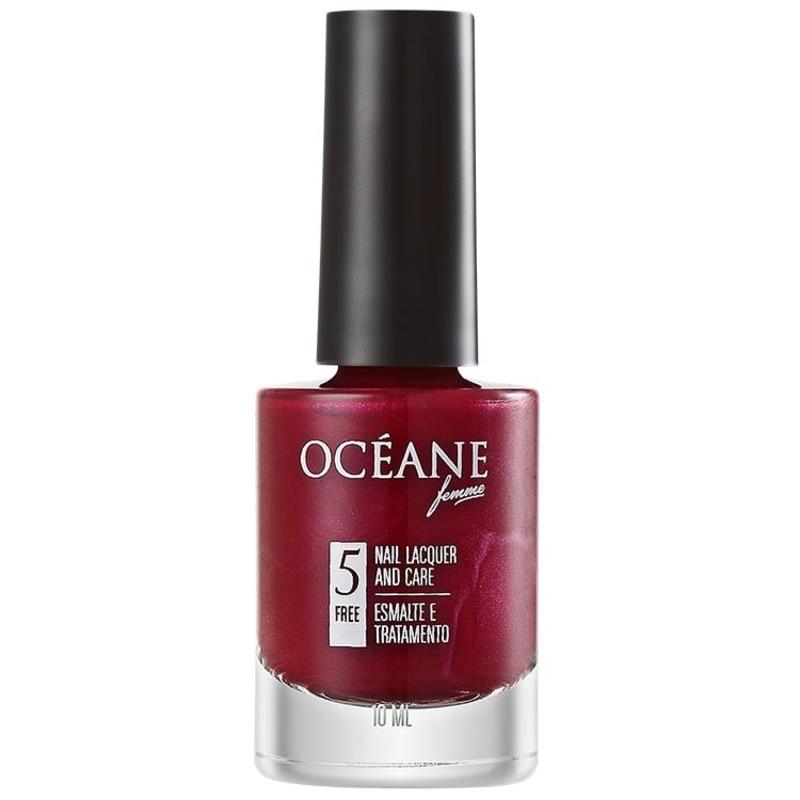 Océane Femme Nail Lacquer And Care Deep Blur - Esmalte Perolado 10ml