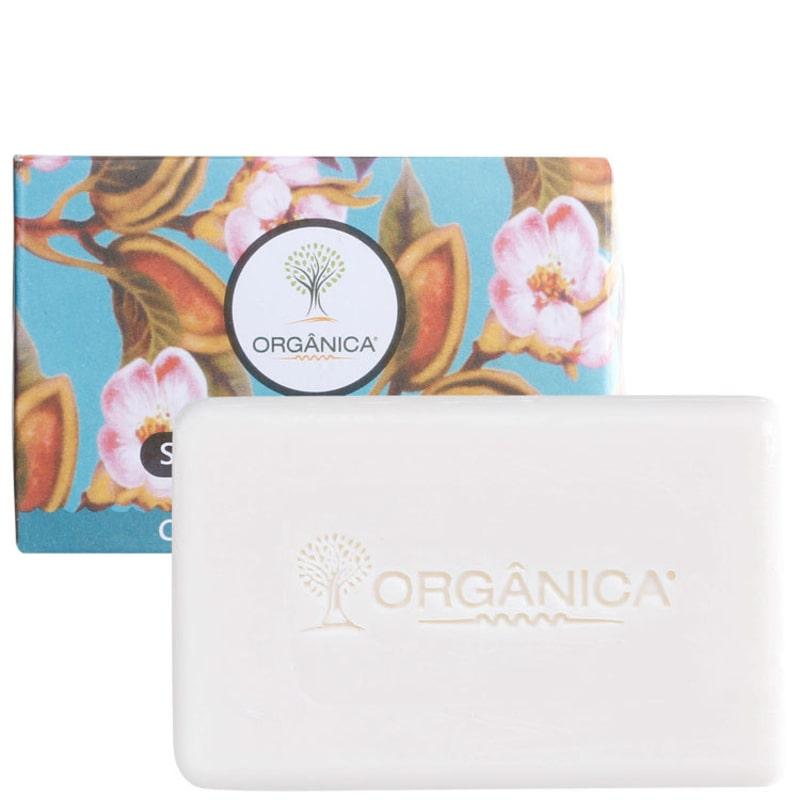 Orgânica Puro Vegetal Chá Branco e Genibre - Sabonete em Barra 90g