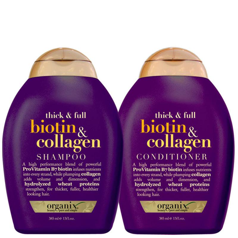 Organix Biotin & Collagen Duo Kit (2 Produtos)