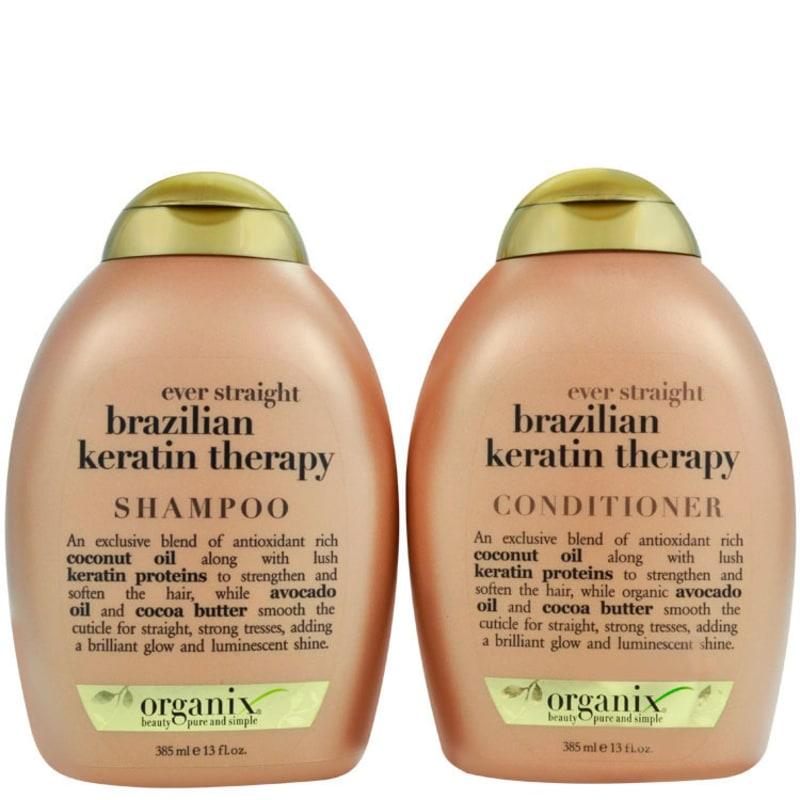 Organix Brazilian Keratin Therapy Duo Kit (2 Produtos)