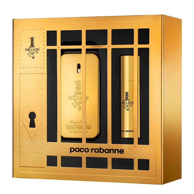 Conjunto 1 Million Paco Rabanne Masculino - Eau de Toilette 50ml + Desodorante 10ml
