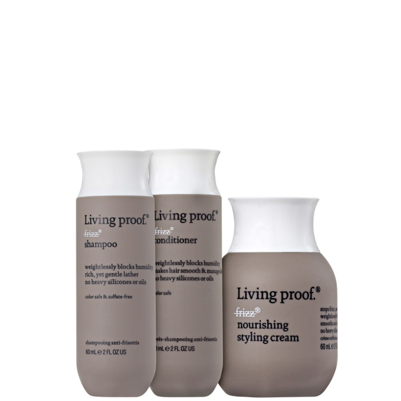 Living Proof No Frizz Nourishing Mini Trio Kit (3 Produtos)