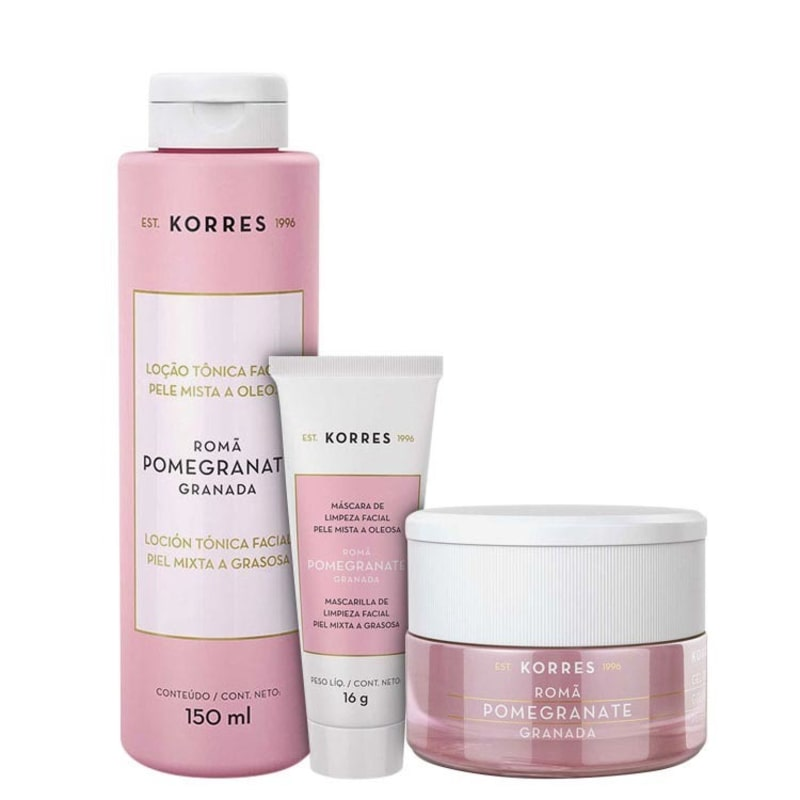 Korres Pomegranate - Skin Care Kit (3 Produtos)
