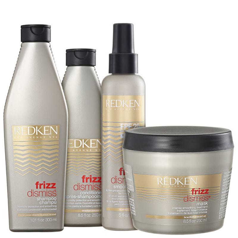 Redken Frizz Dismiss Smooth Force FPF20 Kit (4 Produtos)