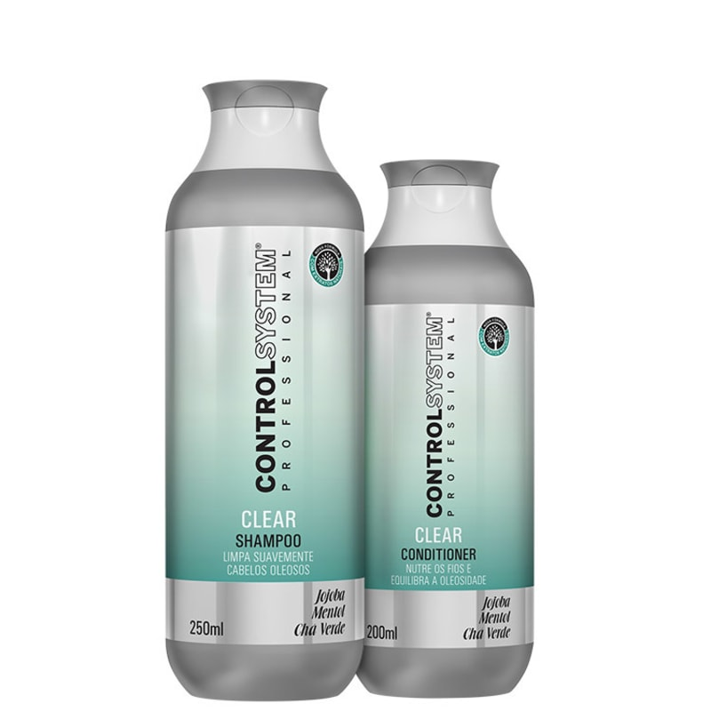 Control System Professional Clear Duo Kit (2 Produtos)