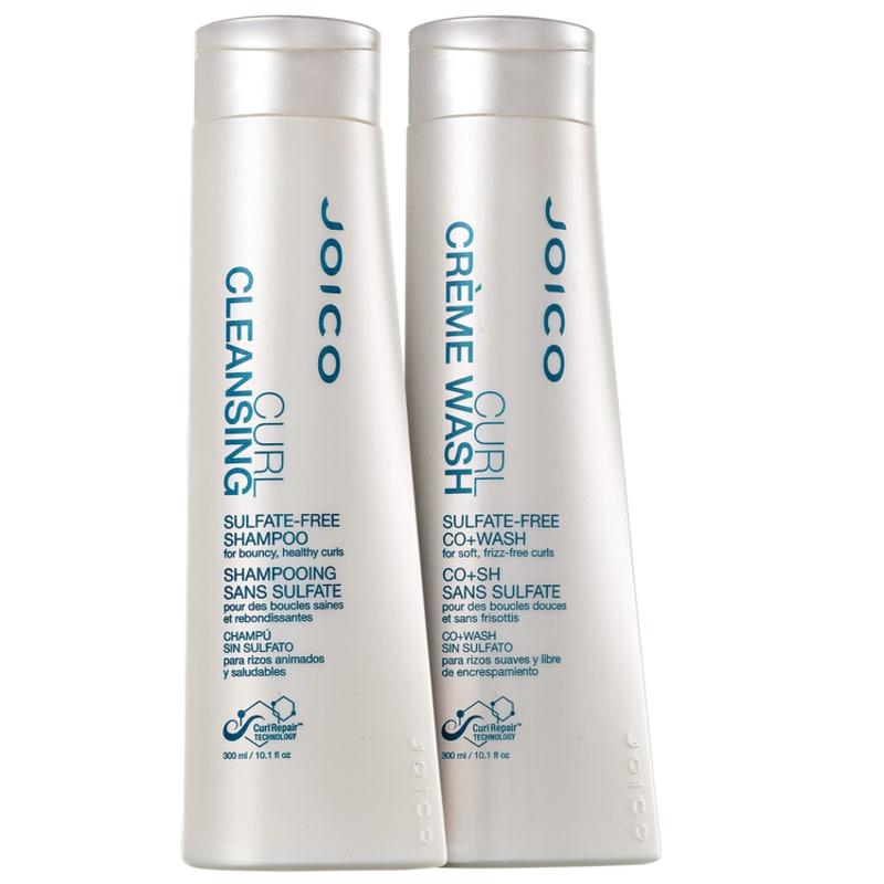 Joico Curl Cleansing Co+Wash Limpeza Kit (2 Produtos)