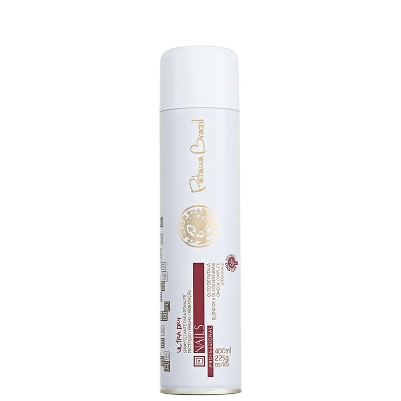 Pataua Brazil Nails Ultra Dry - Spray Secante para Esmalte 400ml
