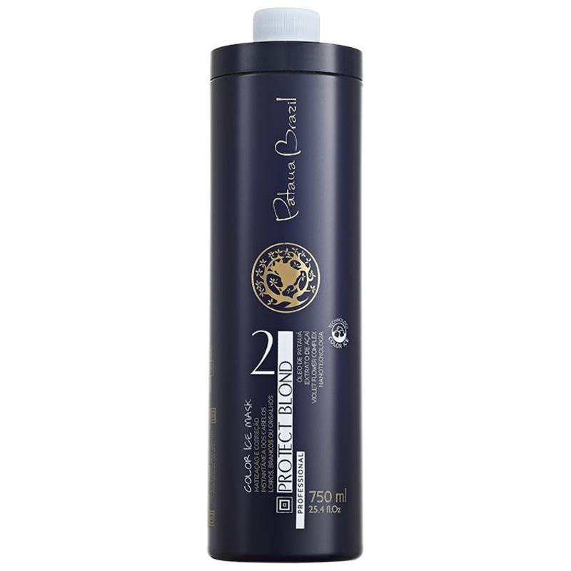 Pataua Brazil Protect Blond Color Ice Mask - Máscara Matizadora 750ml