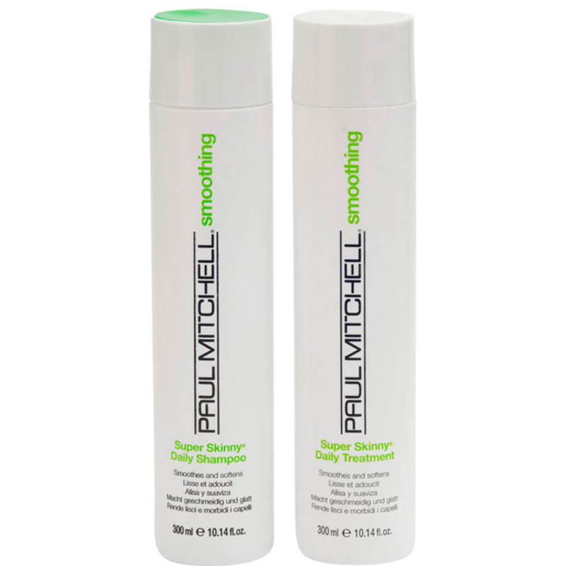 Paul Mitchell Smoothing Super Skinny Daily Duo Kit (2 Produtos)
