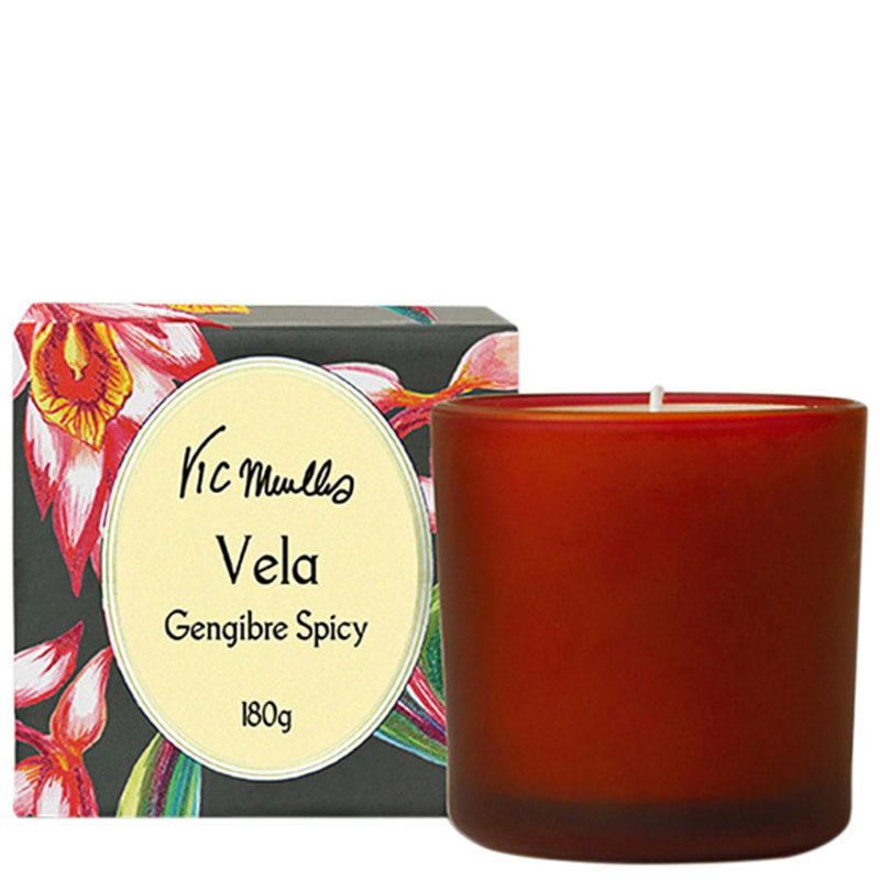 Phebo Vic Meirelles Genibre Spicy - Vela Perfumada 180g