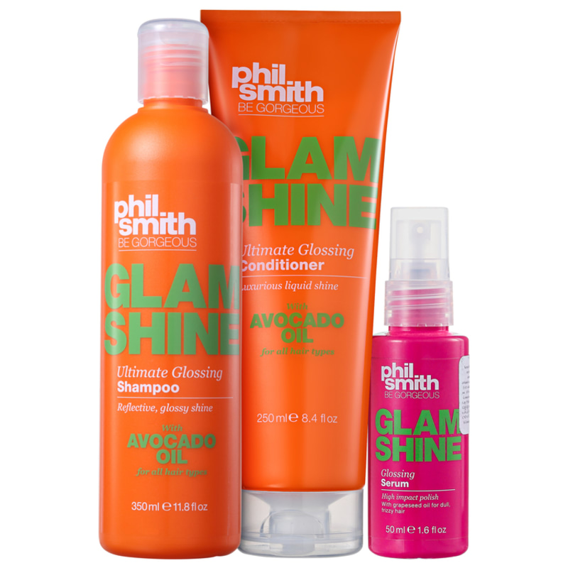 Phil Smith Glam Shine Kit (3 Produtos)