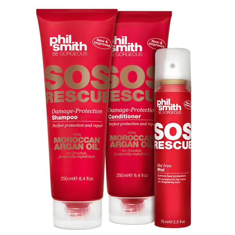 Phil Smith SOS Rescue Hot Protection Kit (3 Produtos)