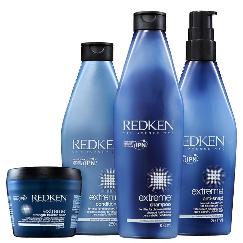 Redken Extreme Strength Anti-Snap Kit (4 Produtos)