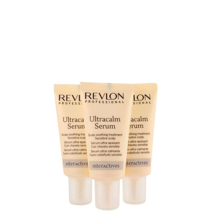 Revlon Professional Sos Calm Ultracalm Serum - Tratamento 3x18ml