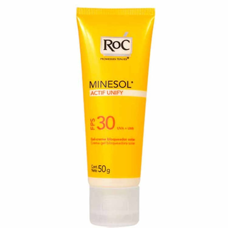 RoC Minesol Actif Unify FPS 30 - Protetor Solar Facial 50g