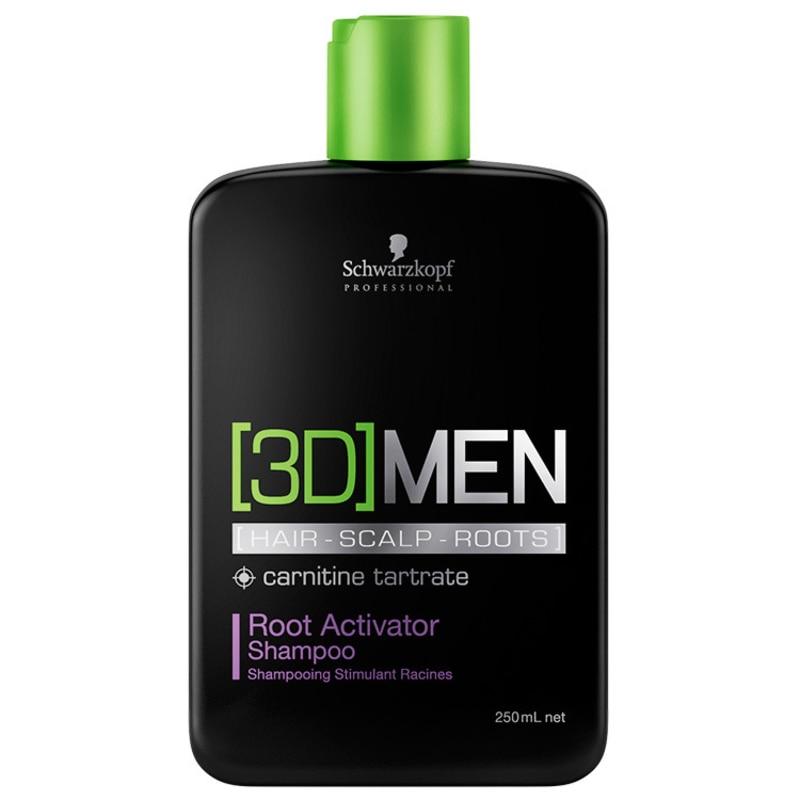 Schwarzkopf Professional 3D Men Root Activator - Shampoo 250ml